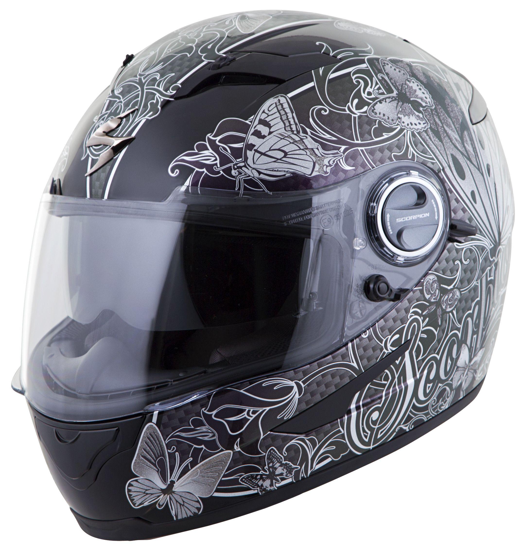 scorpion exo 500 mariposa women 39 s helmet revzilla. Black Bedroom Furniture Sets. Home Design Ideas