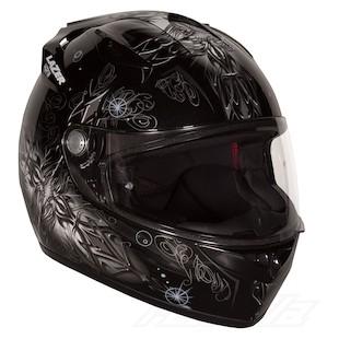 LaZer Osprey Shaman Helmet Black/White / LG [Demo]