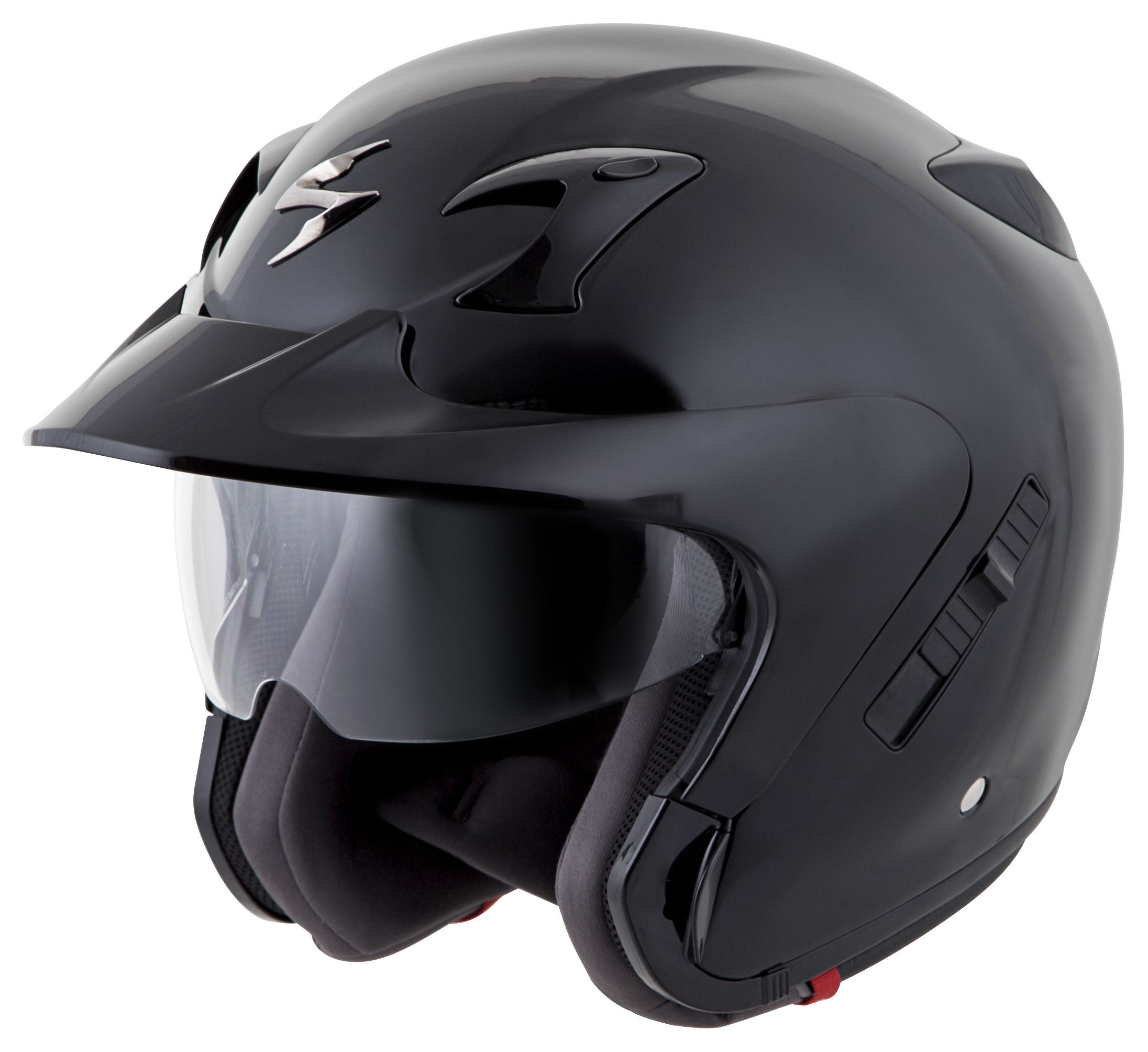 scorpion exo ct220 helmet solid revzilla. Black Bedroom Furniture Sets. Home Design Ideas
