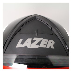 LaZer Falcon Pure Carbon Helmet White/Black / LG [Blemished]