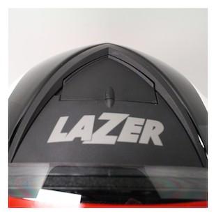 LaZer Falcon Pure Carbon Helmet White/Black / LG [Blemished]