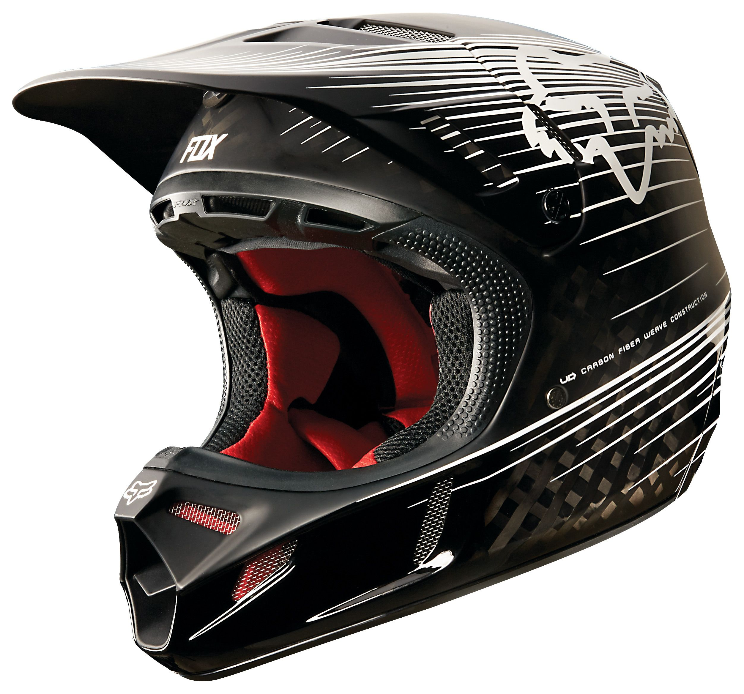 Fox Racing V4 Carbon Reveal Helmet Revzilla