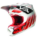 Fox Racing V3 Savant Helmet (Size MD Only)