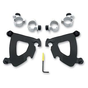 Memphis Shades Gauntlet Fairing Trigger-Lock Mount Kit For Harley Sportster Custom 2011-2014