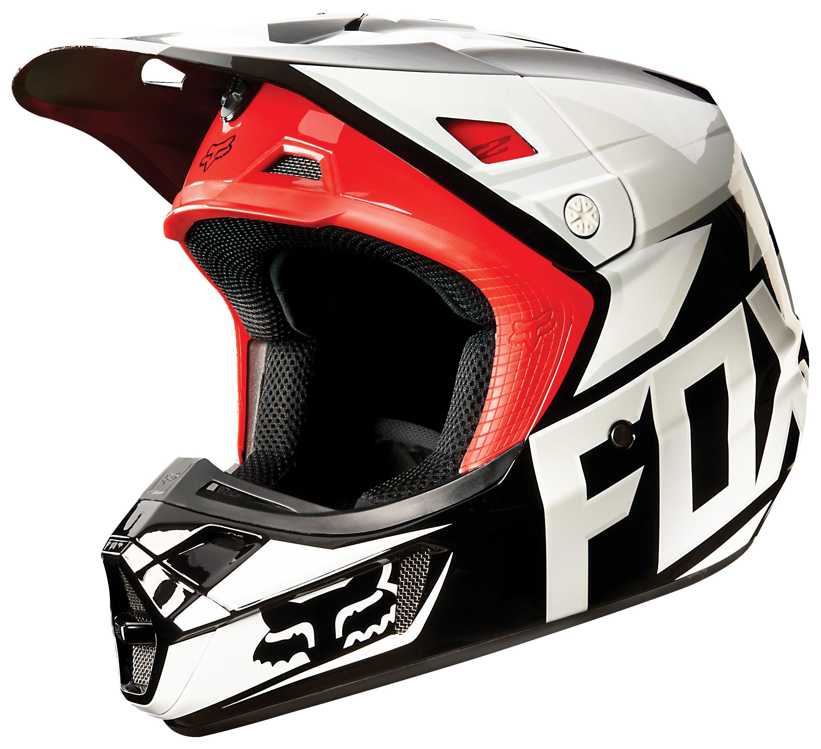 Fox Racing V2 Race Helmet Revzilla