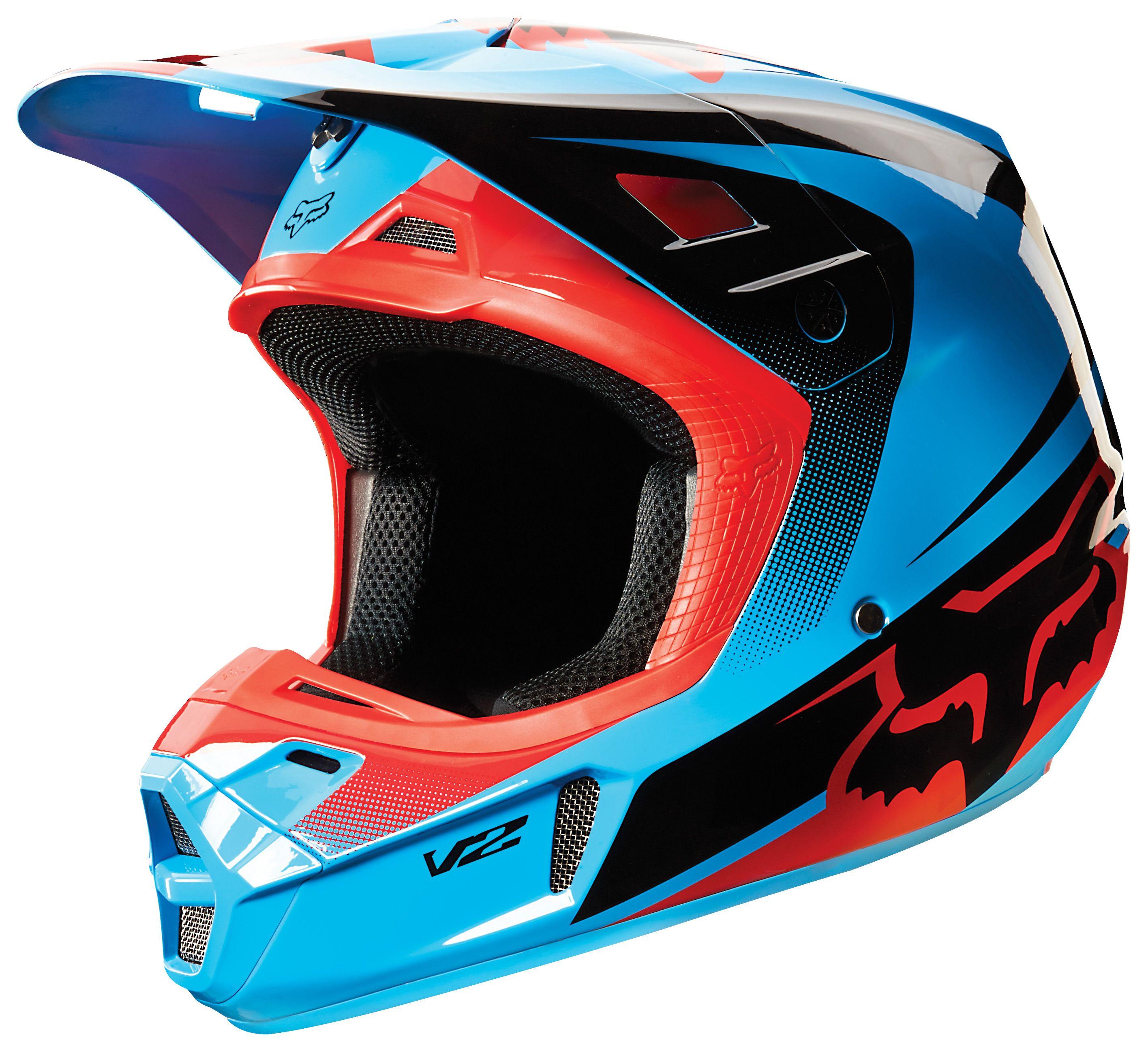 fox racing v2 imperial helmet revzilla. Black Bedroom Furniture Sets. Home Design Ideas