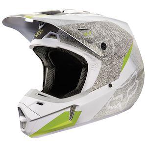 Fox Racing V2 Drezden Helmet (Size XS Only)