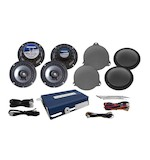 Hogtunes Speaker And Amp Kit For Harley Ultra 2014-2017