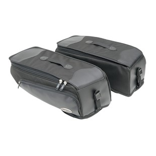 Saddlemen Deluxe Saddlebag Storage Bags For Harley Dyna 2012-2016