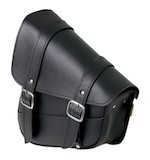 Willie & Max Swing Arm Saddlebag For Harley Softail 1984-2015