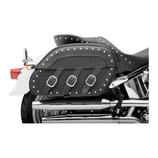 Saddlemen Slant Saddlebags For Harley Softail 1984-2014