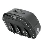 Saddlemen Slant Saddlebags With LED Lights For Harley Sportster 1994-2014