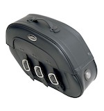 Saddlemen Slant Saddlebags With LED Lights For Harley
