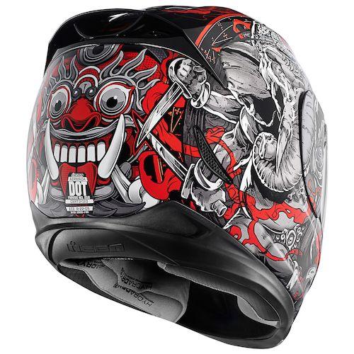 Icon Helmet Graphics Icon Airmada Ganesh Helmet
