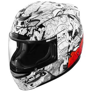 Icon Airmada Miscreant Motorcycle Helmet