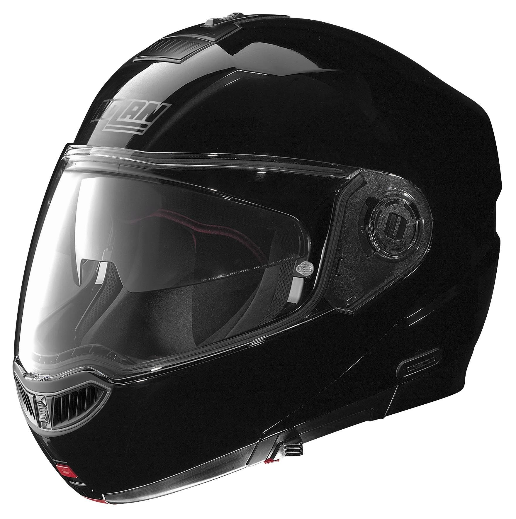 nolan n104 evo helmet with mcs ii headset solid 20 109 99 rh revzilla com