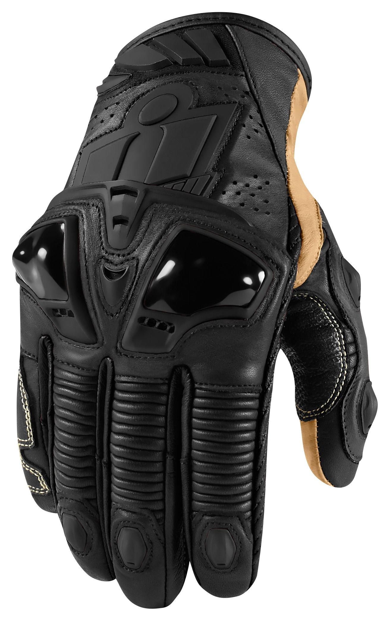 Icon justice leather motorcycle gloves -  Icon Hypersport Pro Short Gloves Revzilla