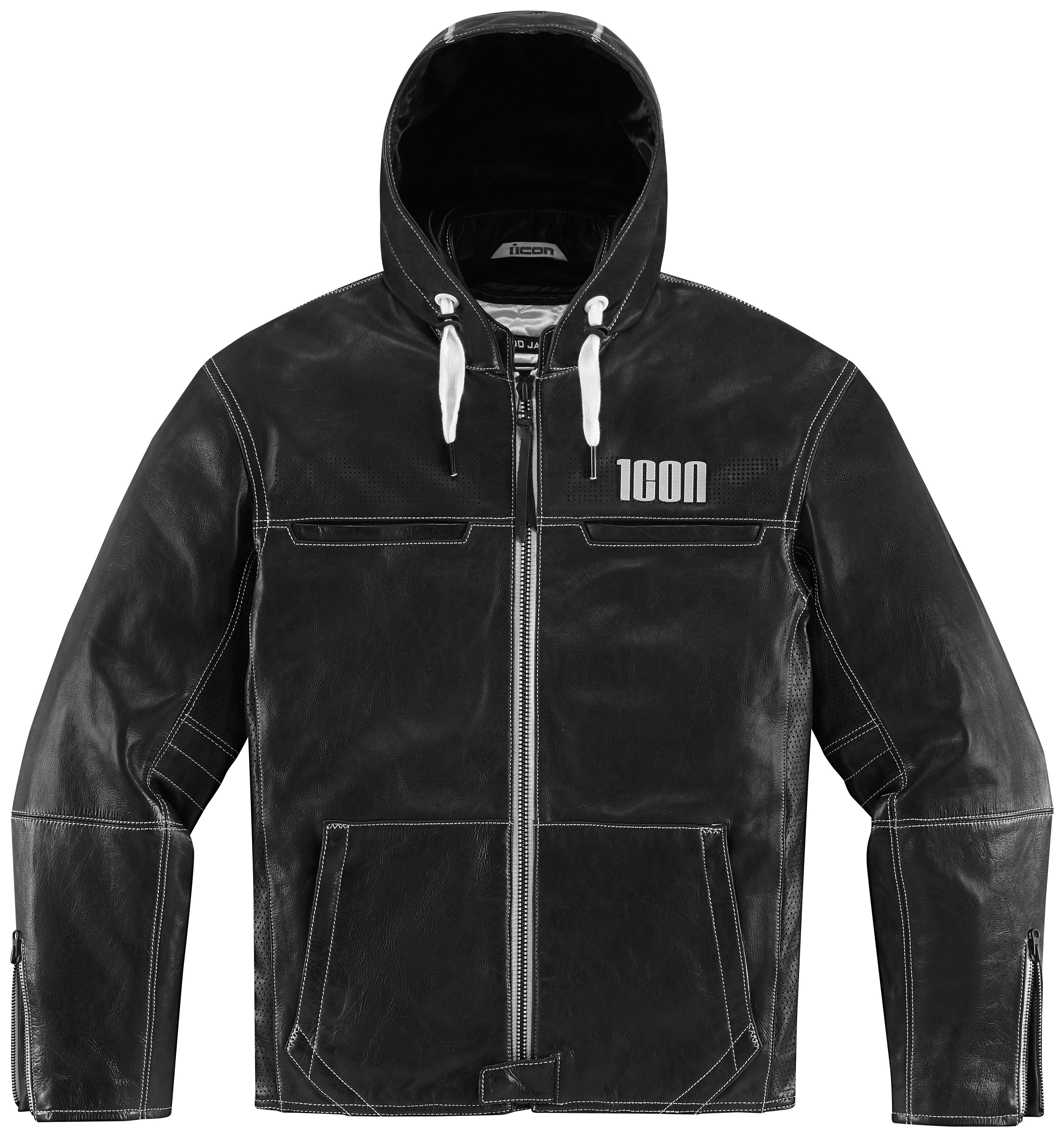Motorcycle jacket with hoodie