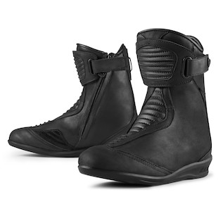 Icon 1000 Women's Eastside WP Motorcycle Boots