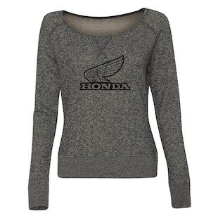 Honda Retro Slub Long Sleeve Women's T-Shirt