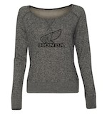 Honda Retro Slub Long Sleeve Women's T-Shirt
