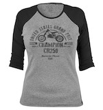 Honda Women's CR250 Baseball T-Shirt