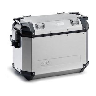 Givi Trekker Outback 48 Liter Side Cases Silver / Left [Blemished]