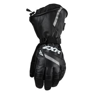 FXR Leather Gauntlet Gloves