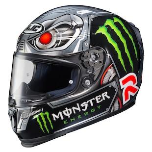 HJC RPHA 10 Ghost Fuera Motorcycle Helmet