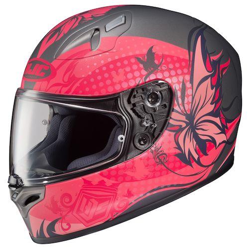Hjc Fg 17 >> HJC FG-17 Flutura Women's Helmet - RevZilla