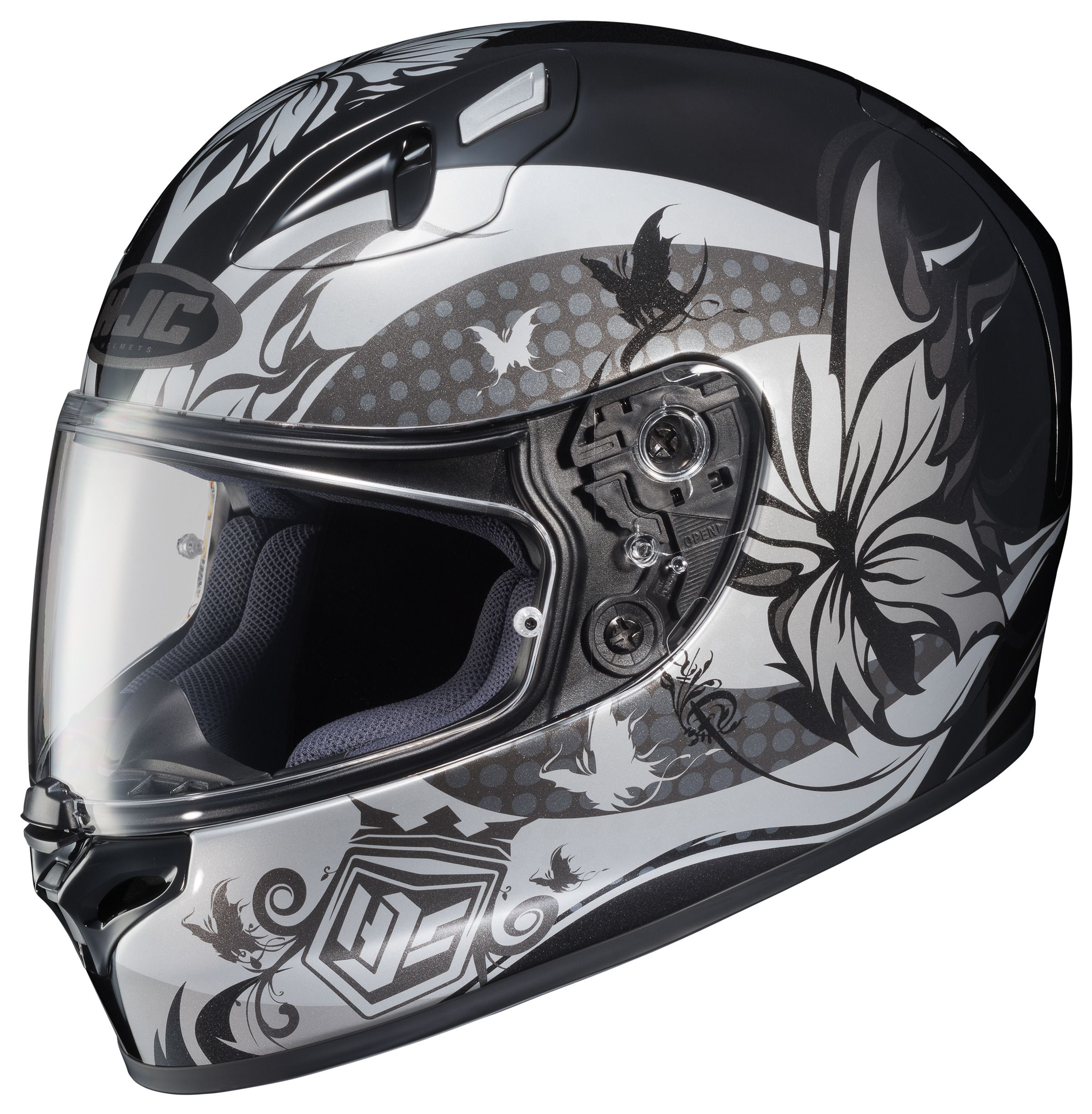 hjc fg 17 flutura women 39 s helmet revzilla. Black Bedroom Furniture Sets. Home Design Ideas