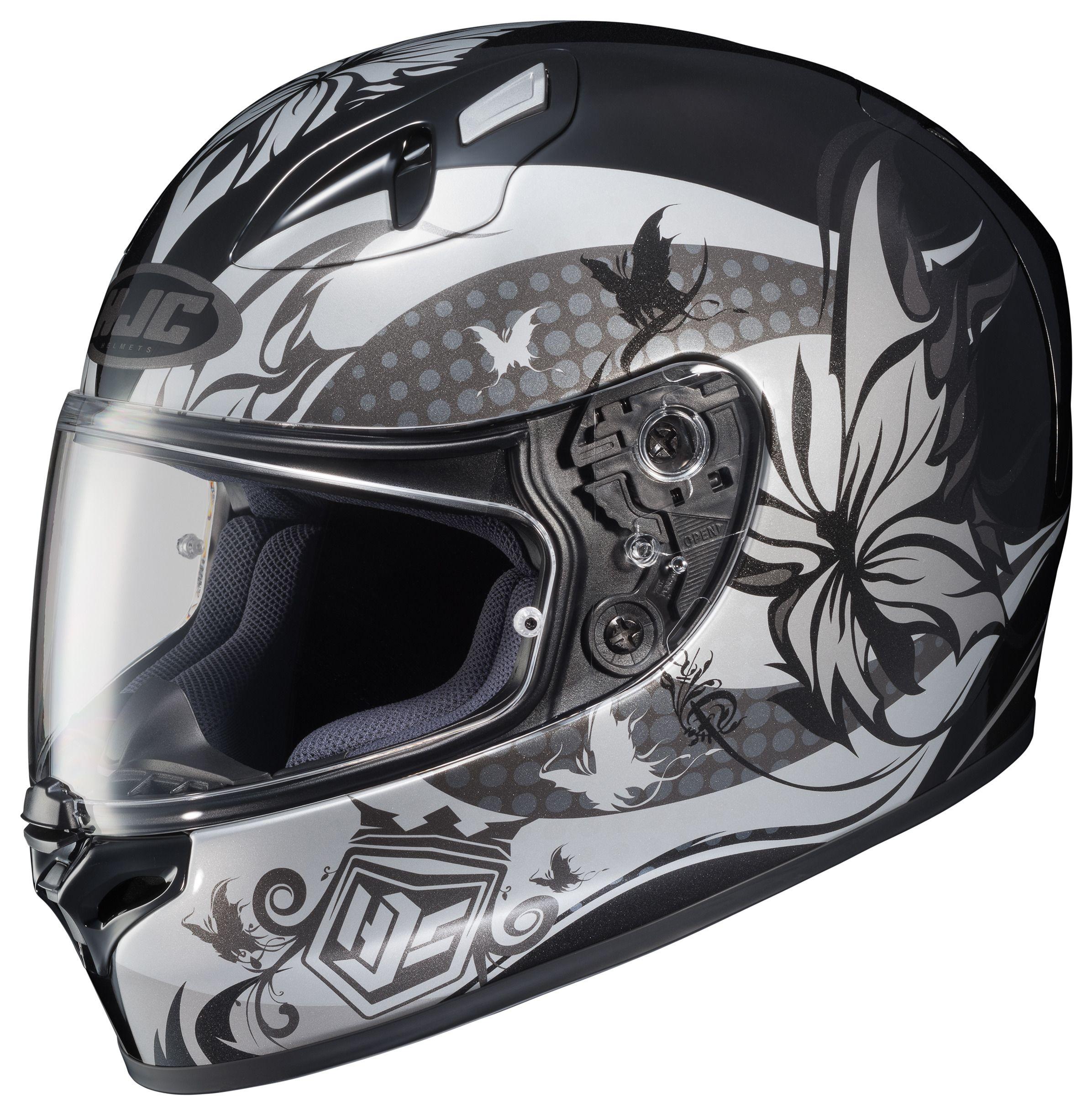 hjc fg 17 flutura women 39 s helmet revzilla. Black Bedroom Furniture Sets. Home Design Ideas