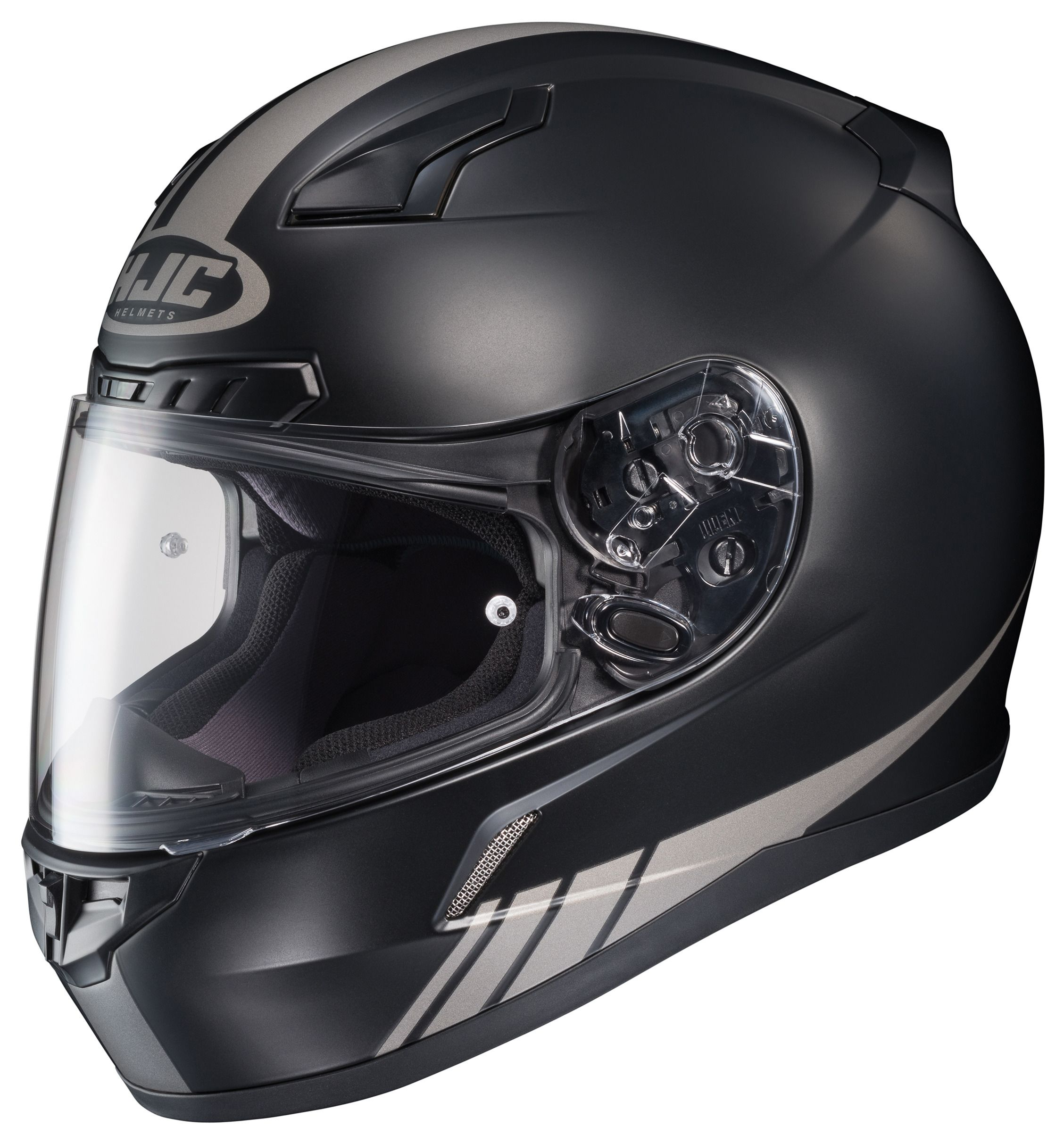 helmet hjc cl streamline cl17 helmets motorcycle mc 5x face revzilla 3xl 5xl reflective motosport stripes sold snell 2xl 4xl