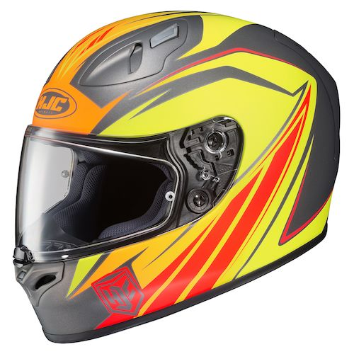 hjc fg 17 thrust helmet revzilla. Black Bedroom Furniture Sets. Home Design Ideas