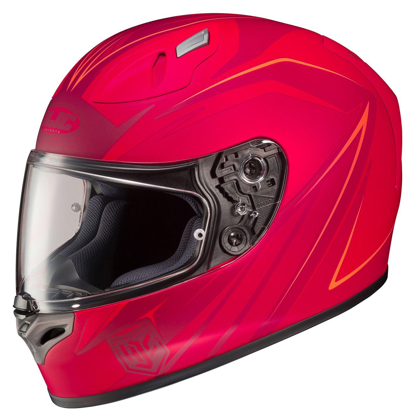 HJC FG Thrust Helmet RevZilla - Motorcycle helmet decals graphicsmotorcycle helmet graphics the easy helmet upgrade