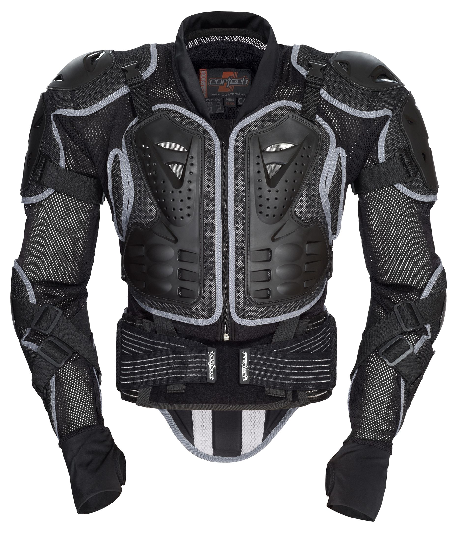 Cortech Accelerator Protector Armored Jacket Sm Md 20