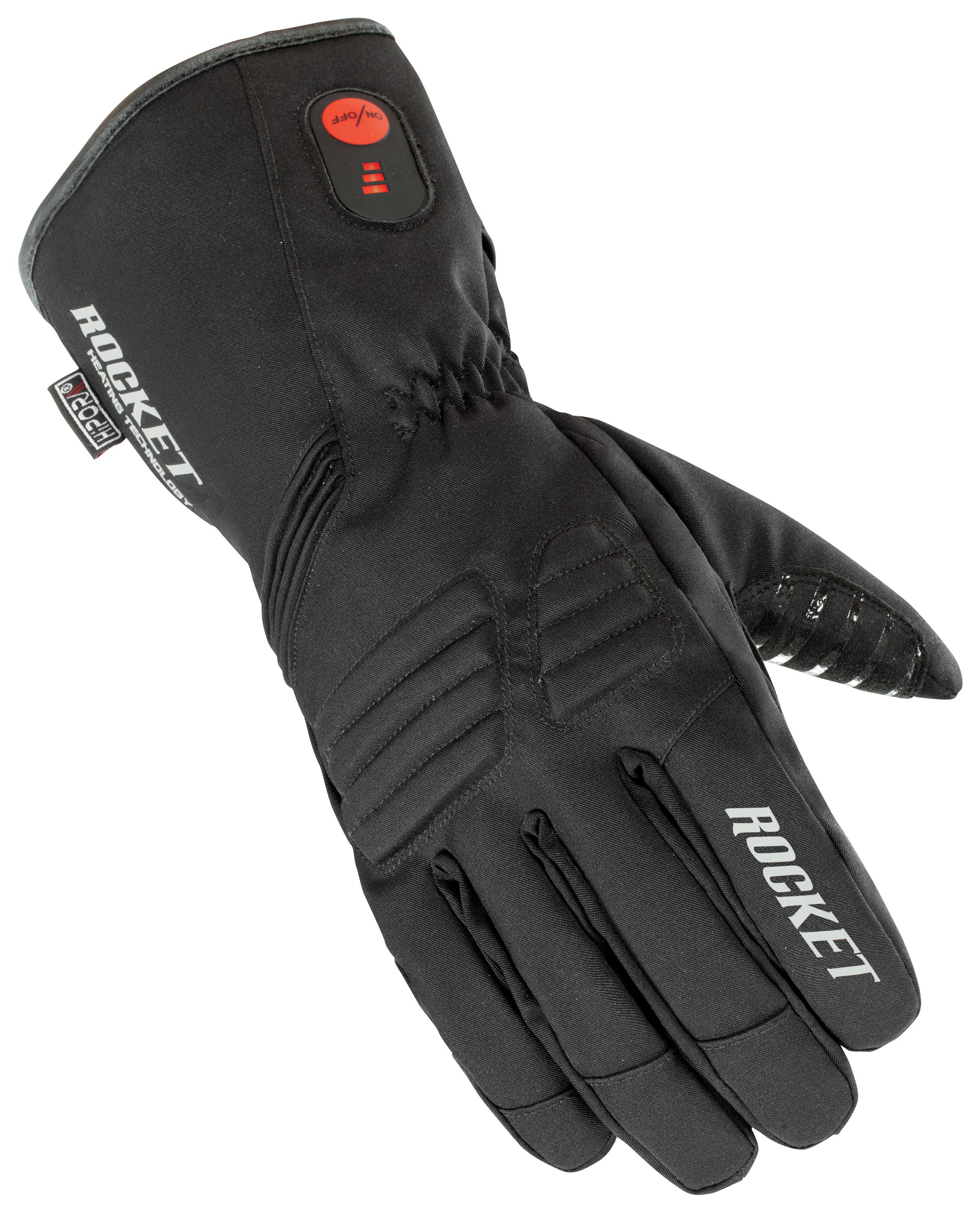 Motorcycle gloves heated battery -