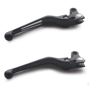 Custom Chrome Ergonomic Levers For Harley Big Twin 2007-2014