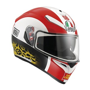 AGV K3 SV Simoncelli Motorcycle Helmet