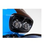 Trask Dual Headlight Grille Cover For Harley Road Glide 1998-2013