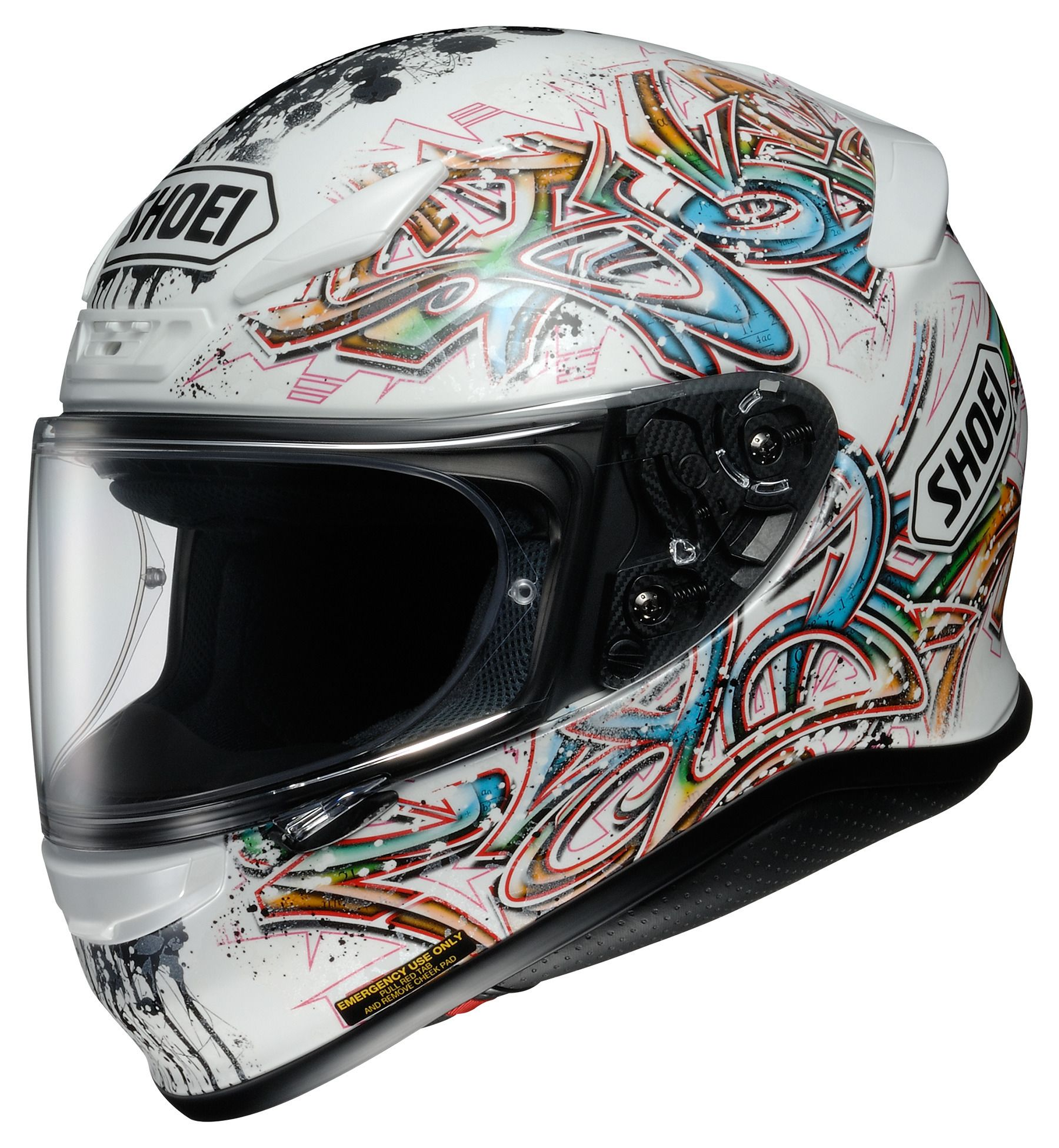 shoei rf 1200 graffiti helmet 24 off revzilla. Black Bedroom Furniture Sets. Home Design Ideas