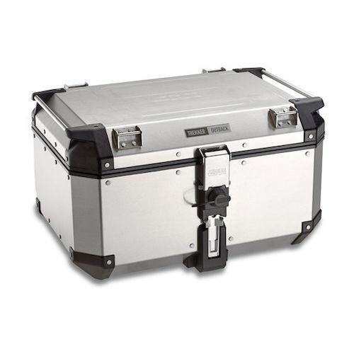 givi trekker outback 58 liter top case revzilla. Black Bedroom Furniture Sets. Home Design Ideas