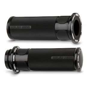 Arlen Ness Fusion Slot Track Grips For Harley