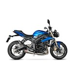 Scorpion Serket Taper Slip-On Exhaust Triumph Street Triple / R 2013-2015