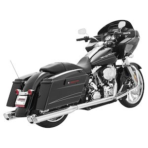Freedom Performance Racing True Dual Exhaust For Harley Touring 1986-2008