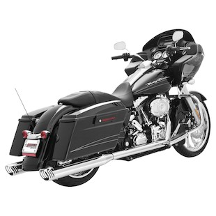 Freedom Performance Racing True Dual Exhaust For Harley Touring 2009-2016