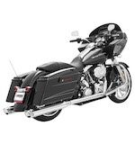 Freedom Performance Racing True Dual Exhaust For Harley Touring 2009-2015