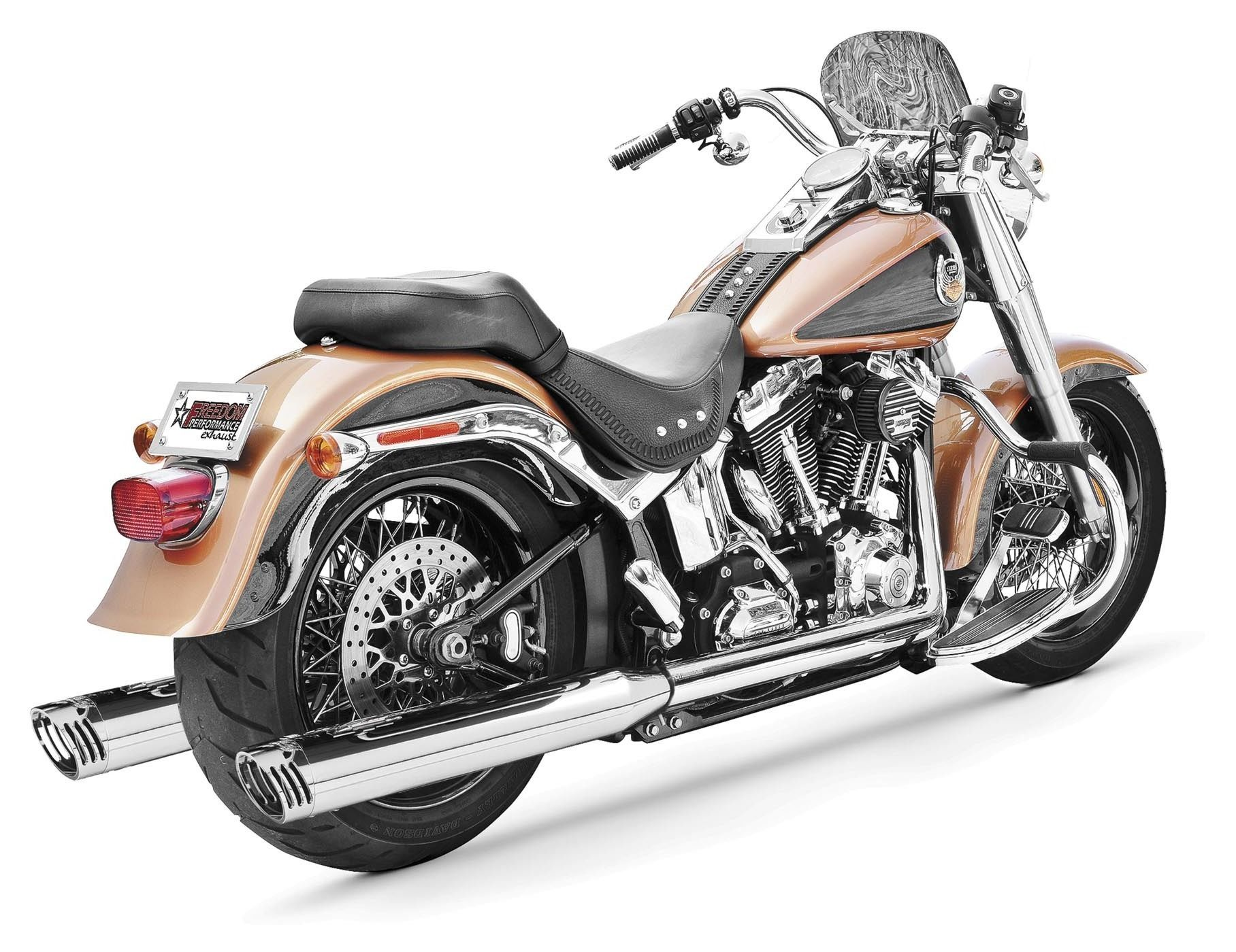 Freedom Performance Racing True Dual Exhaust For Harley Softail 2007-2014    10% ($140.00) Off! - RevZilla
