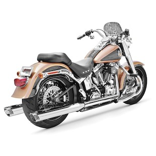 Freedom Performance Racing True Dual Exhaust For Harley Softail 1986-2006