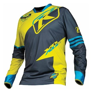 Klim XC Jersey (Color: Green / Size: 3XL)